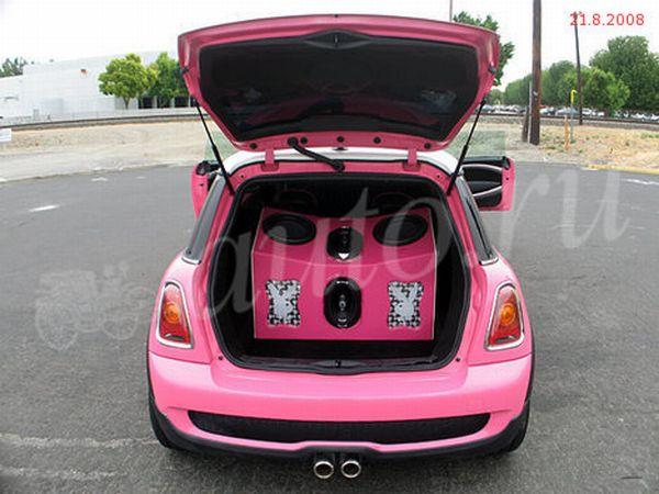Pink Mini Cooper limo (6 pics)