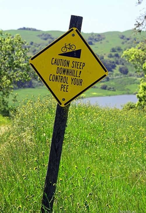 Hilarious modified signs (24 pics)