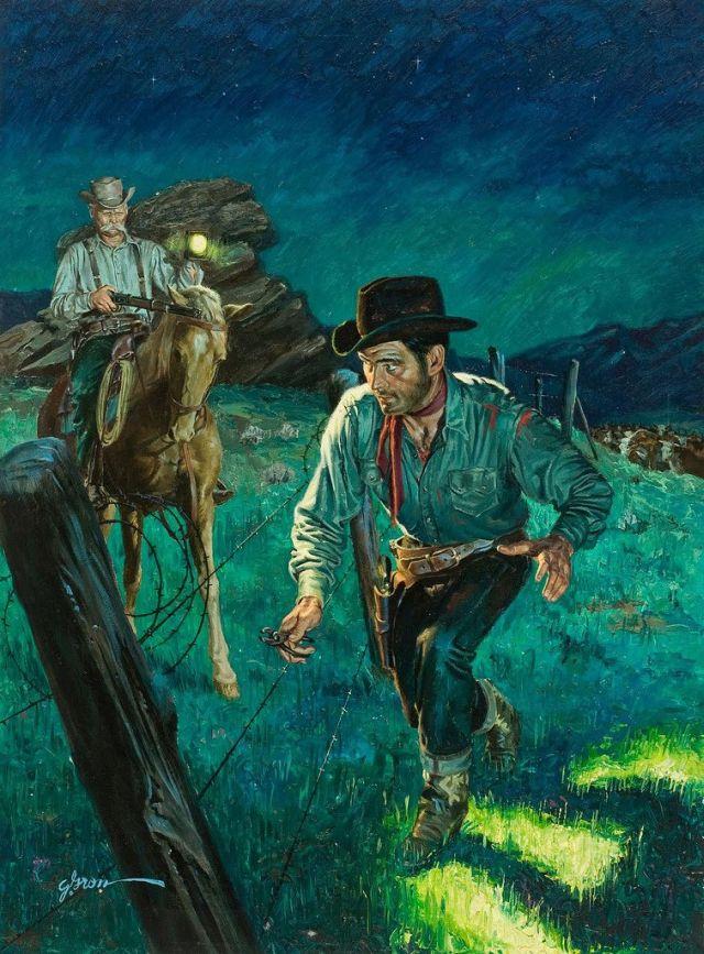 George Gross' pulp art (20 pics)