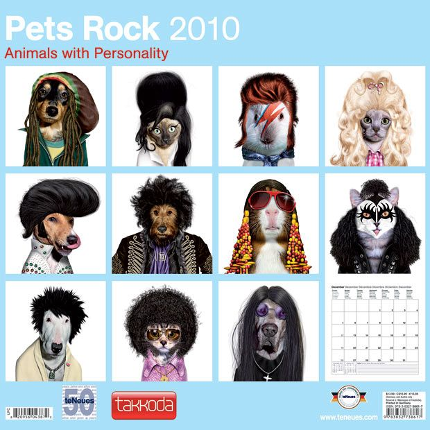 Rock calendar for 2010 (13 pics)