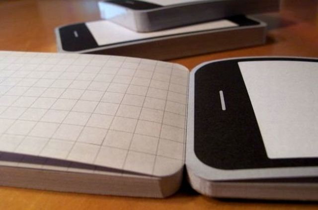 Are you an iPhone fan? Then this Notepod is for you ;) (5 pics)