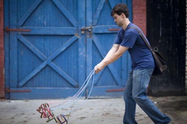 Interesting Flashmob - invisible dogs (22 pics)