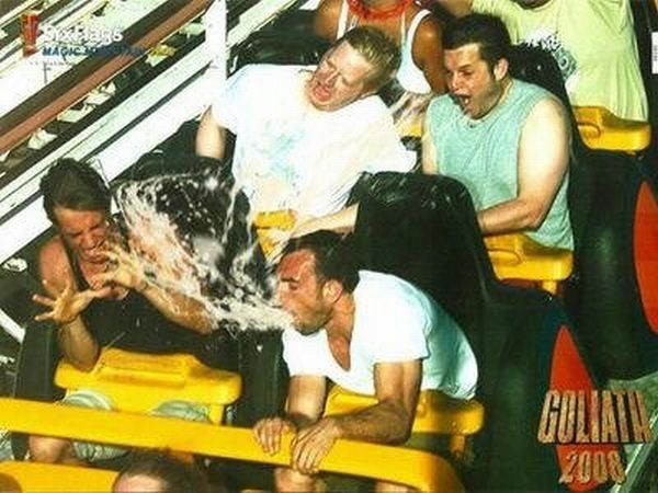 Funny faces during Roller Coaster ride (20 pics)