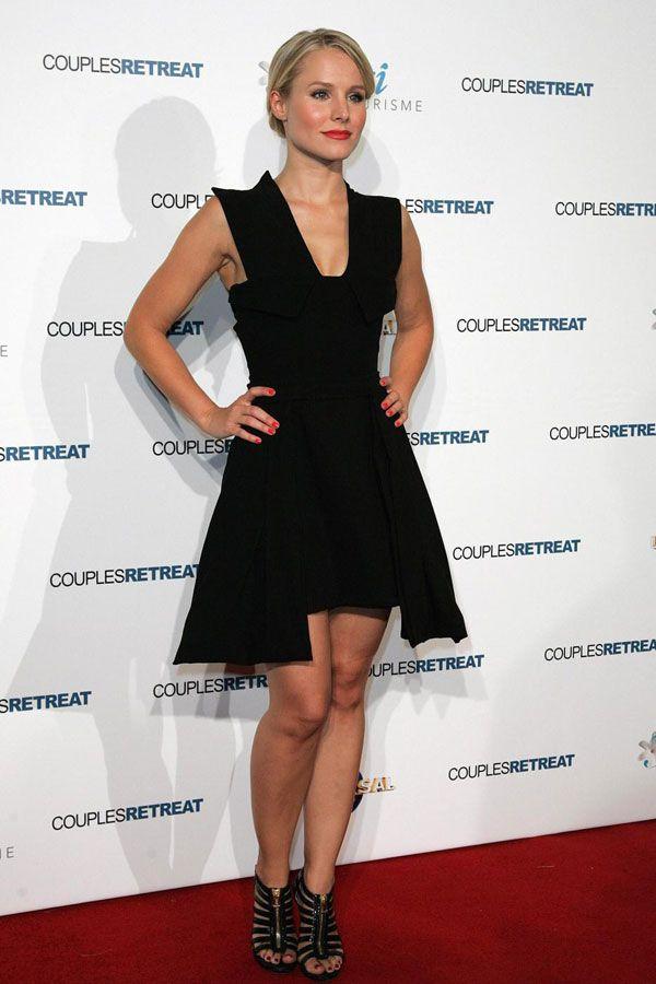 Kristen Bell: whatever she's doing, she's still cute (8 pics)