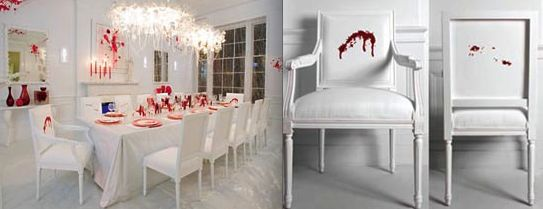 A house of blood (11 pics)