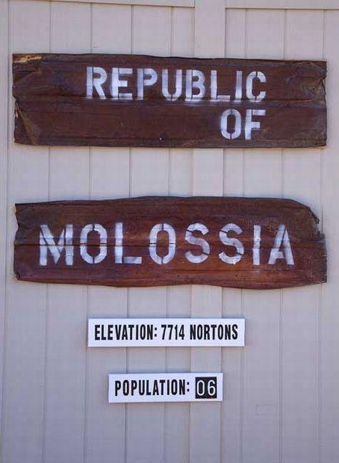 Molossia - The smallest republic in the world (15 pics)