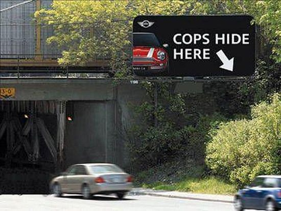 Creative, funny, crazy, original billboards (107 pics)