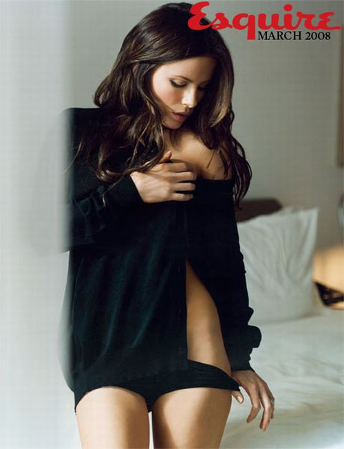 Incredibly sexy Kate Beckinsale in Esquire magazine (7 pics)
