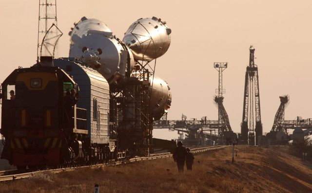 Russian Soyuz spacecraft (18 pics)