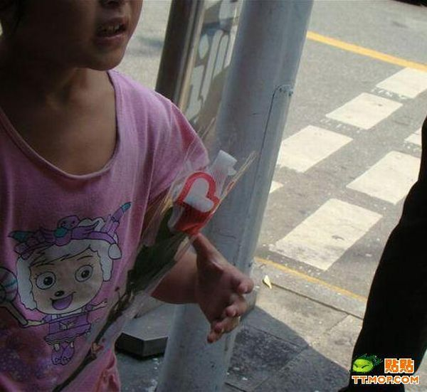 How beggars work in China (15 pics)