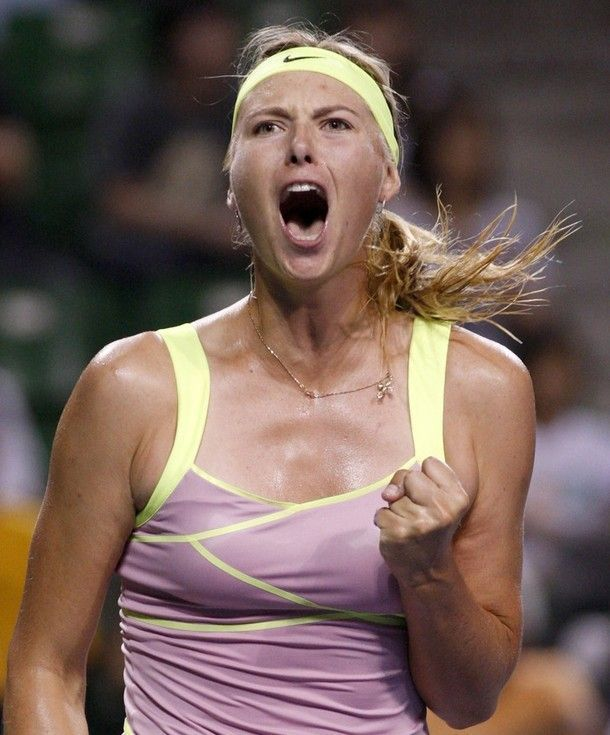 Great photo shoot of Maria Sharapova (15 pics)