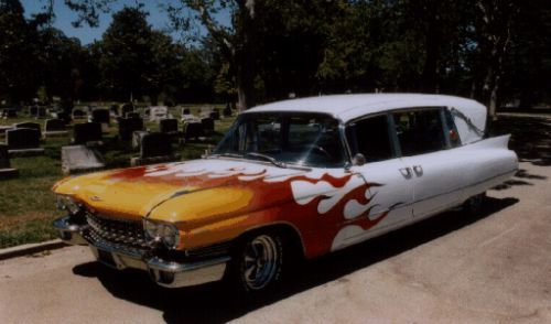 Hearses to any taste (26 pics)