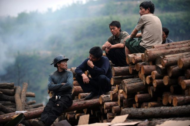 About the hard work of Chinese miners (25 pics)