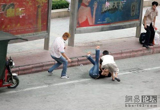 Dangerous Chinese thieves (5 pics)