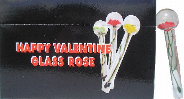 4 daily picdump 98 pics - Happy Valentine Glass Rose Pipe