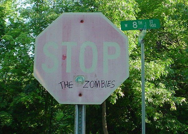 Beware of zombies! (37 pics)