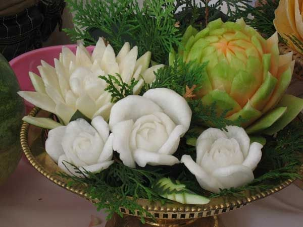 Fruit and vegetables carvings pics izismile
