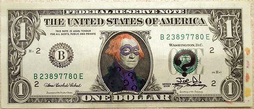 Compilation of funny defaced bills (25 pics)