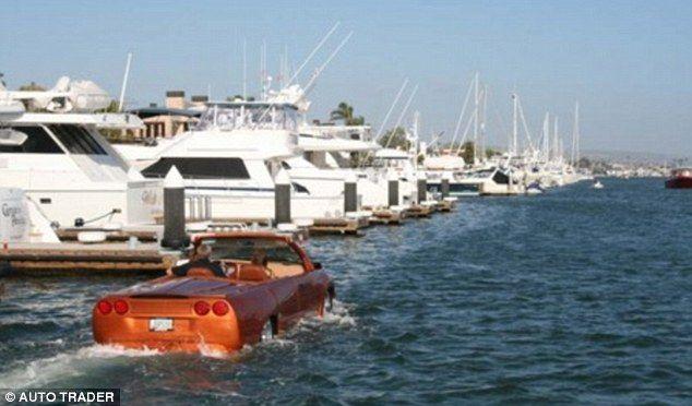 The Python – a 60mph luxurious amphibious car (5 pics + 1 video)