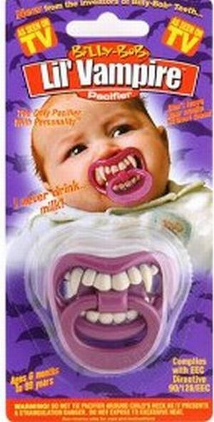 A scary Halloween 'costume' for babies (3 pics)