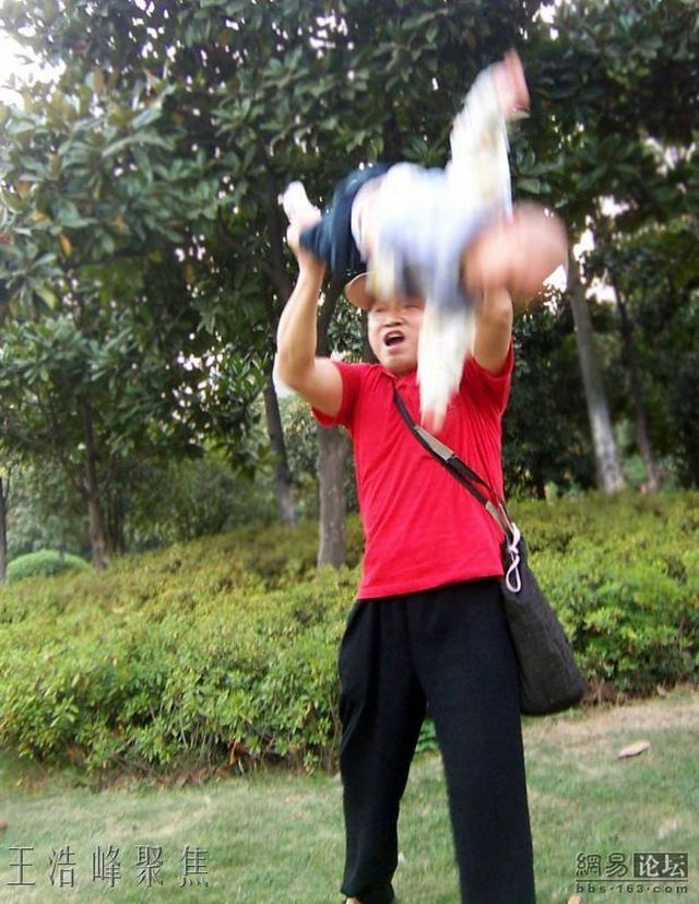 Extreme gymnastics for the baby (7 pics)