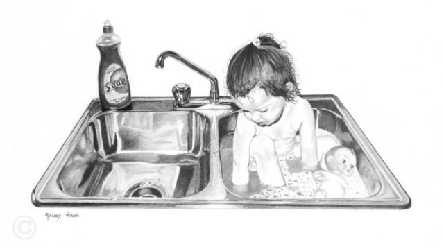 Great pencil drawings by Randy Hann (28 pics)