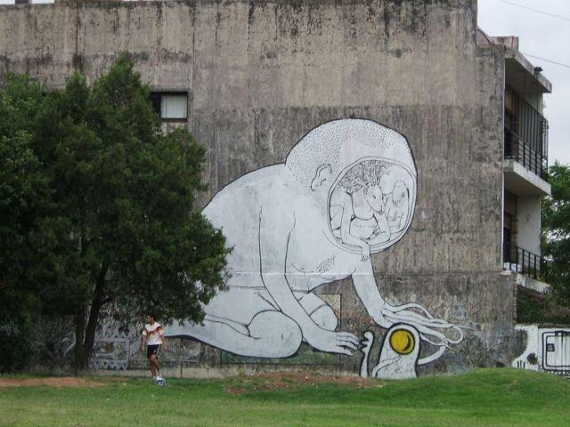 Master of street graffiti (75 pics)