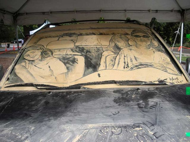 Do not rush to wash your car ;) (69 pics)