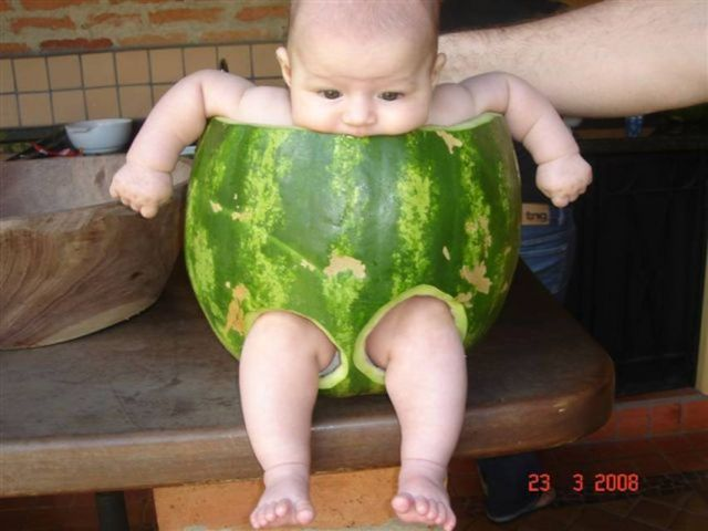 The watermelon baby! (4 pics)