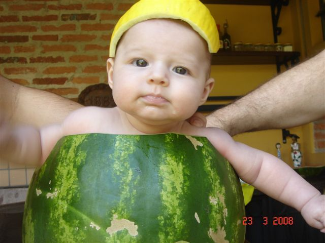 The watermelon baby! (4 pics)