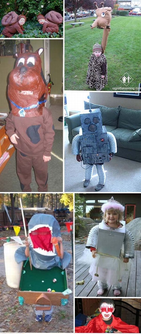 Hilarious Halloween costumes handmade by parents (25 images)