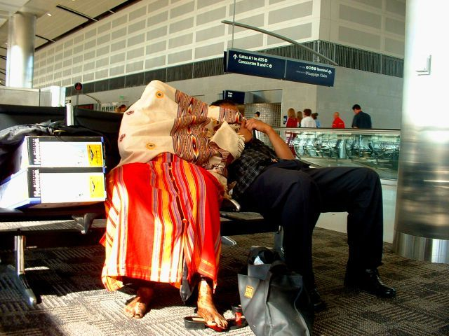"""Victims"" of airports (35 pics)"
