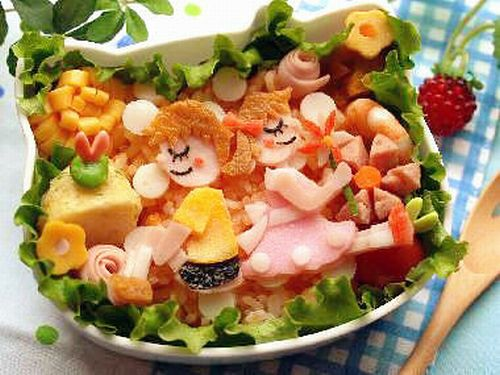 Creative artistic and fun meals! (75 pics)