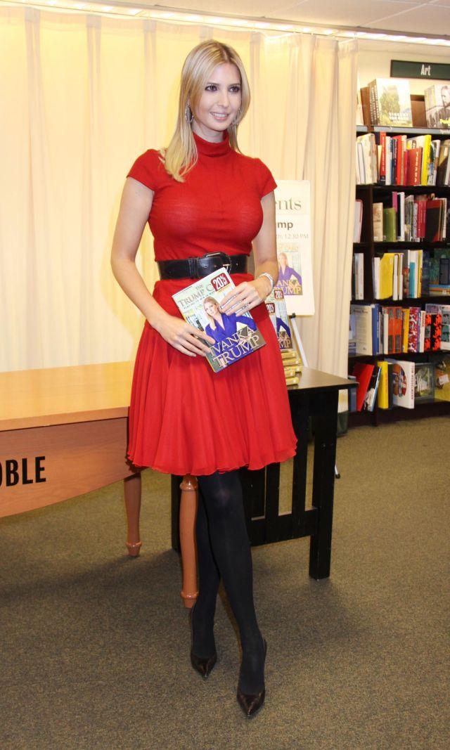 Ivanka Trump, daughter of a business magnate (8 pics)