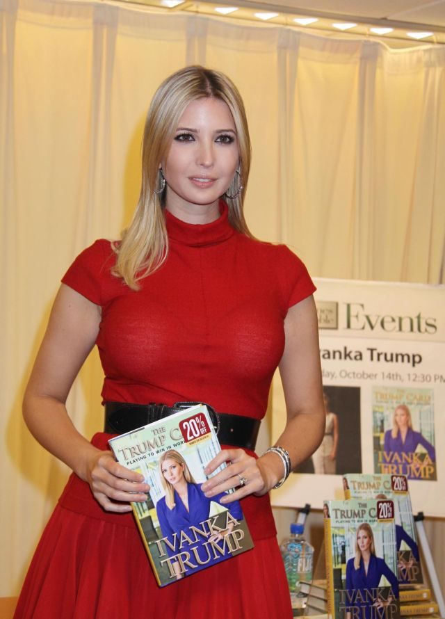 Ivanka Trump, daughter of a business magnate (8 pics)