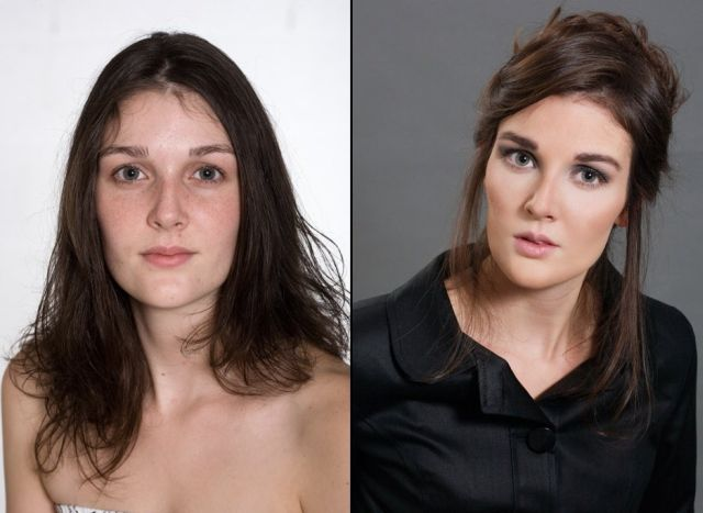 The art of make-up – before and after (21 pics)