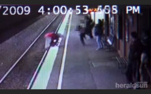 Baby miraculously survives after falling under the train! (5 pics + 1 video)