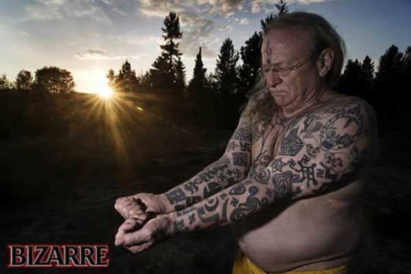 Des tatouages nazis (10 pics)