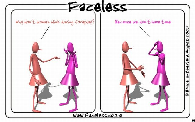 Faceless (35 pics)