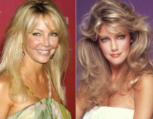 Sex symbols when they were young… and now! (13 pics)