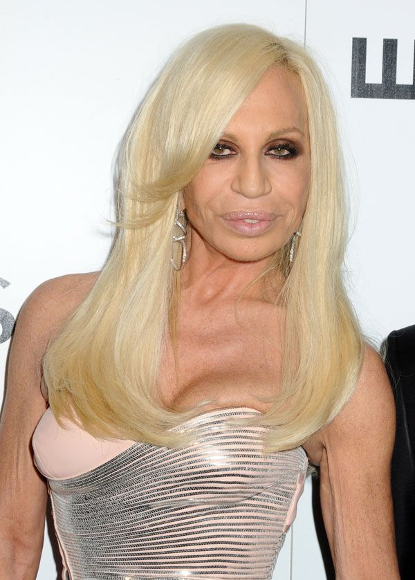 Donatella Versace and Lindsay Lohan. Who could tell them apart? ;) (12 pics)