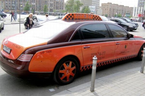 Pimped taxi cabs all over the world (17 pics)