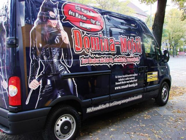 Domina-Mobil – S&M studio on wheels… (13 pics)