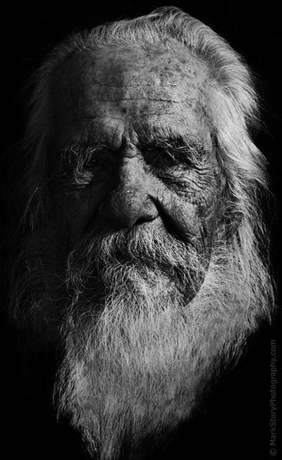 Portraits of long-lived people who saw three centuries (16 pics)