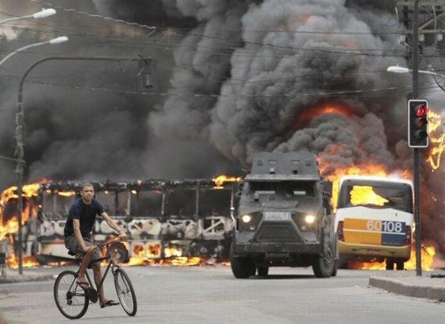 Slum war in Rio de Janeiro (35 pics)