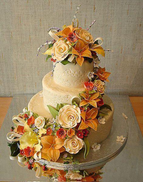 Return to Beautiful and Creative Wedding Cakes 35 pics