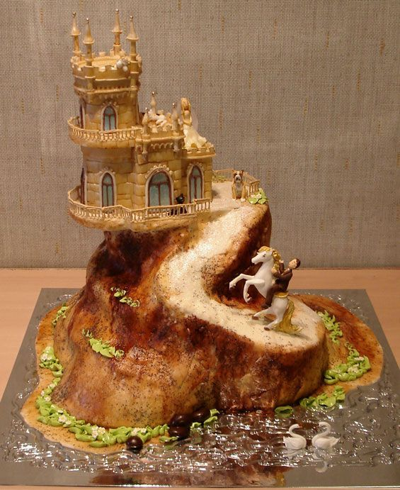 Beautiful and Creative Wedding Cakes (35 pics)