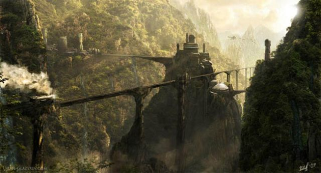 Beautiful Matte Painting (13 pics)