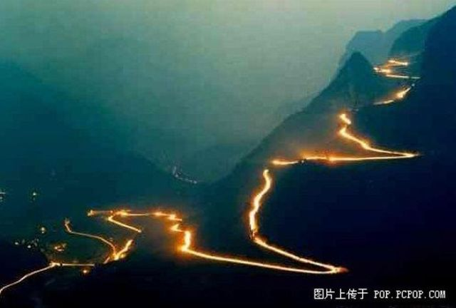 One of the Most Dangerous Roads in the World! (14 pics)