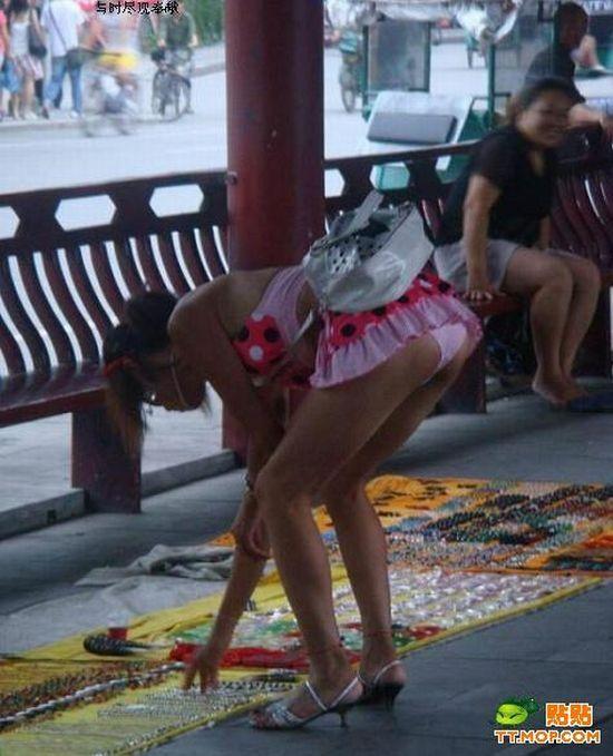 Upskirts bajo la falda chica de prepa en el bus 5 - 5 7